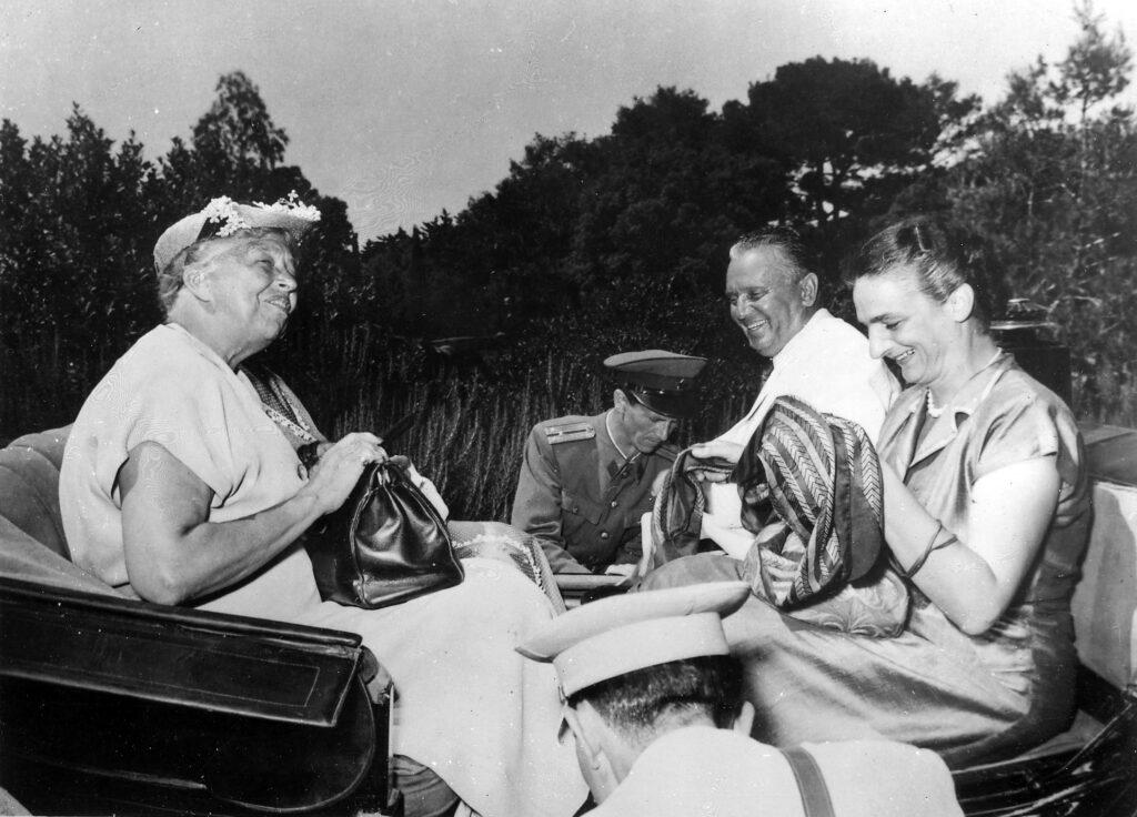 Tito and Eleonor Roosevelt