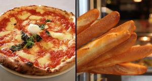 apprendre pour un italien: de la pizza à la baguette
