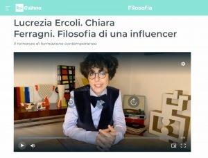 L. Ercoli su Chiara Ferragni, link al video di RaiCultura nelle note
