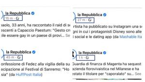 information and media - la Repubblica